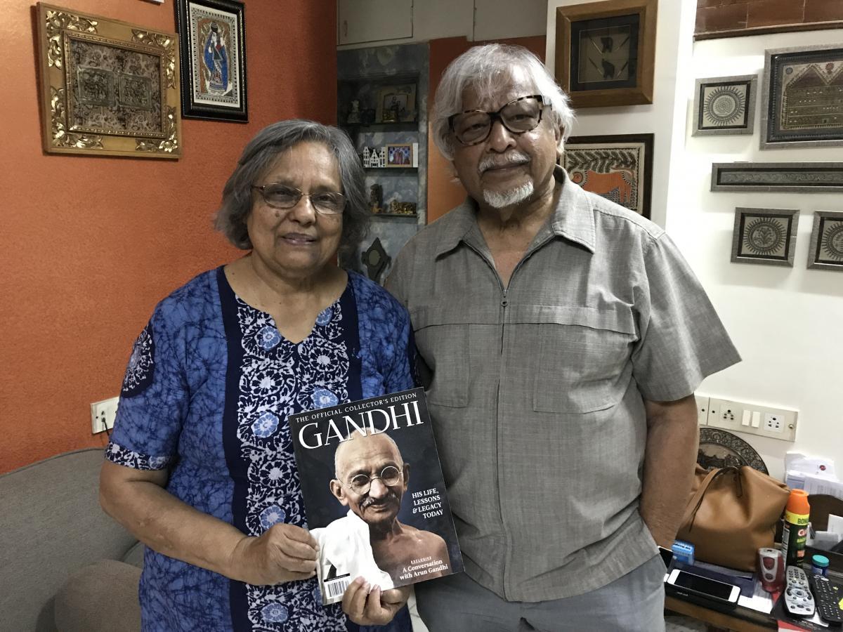 2 Ela und Arun Gandhi