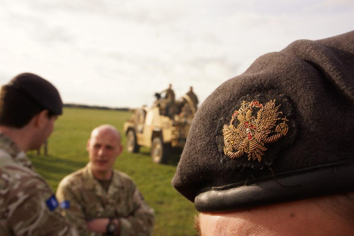 Ein britisches Regiment kämpft bis heute unter dem habsburgischen Doppeladler